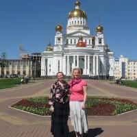 Экскурсия по Саранску для организаторов семинара Т.И. Белобородовой и А.А. Лариной