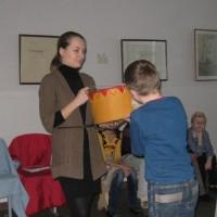 ДХШ №2. Дети изучают недра мельницы Сампо.