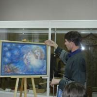 Виктор Дырин Рассказывает о своей работе Рождество.