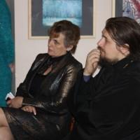 Отец Павел и Е.М. Шумилкина, зам. директора гимназии № 20.