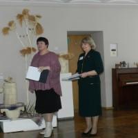 Ведущие праздника - Н.С. Осянина и И.В. Шило.