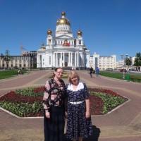 С куратором проекта Т.И. Белобородовой