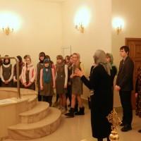 Экскурсия в крестильне