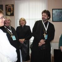 Встреча участников семинара в музее