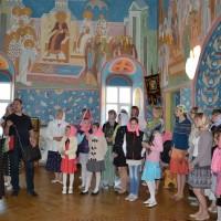 Знакомство с росписями в Иоанно-Богословском соборе.