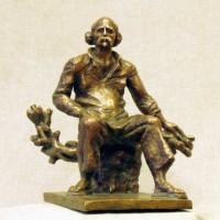 Эрьзя. Модель скульптуры. 2005. Бронза
