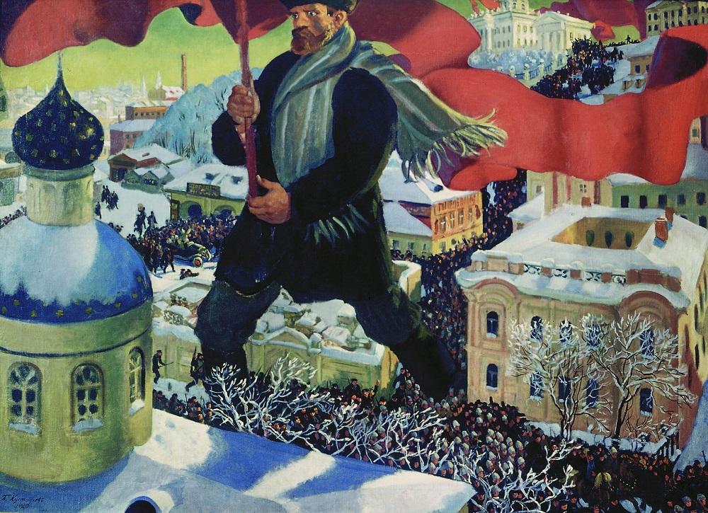 Bolshevik_-_Kustodiev
