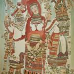 7. Мордовские невесты. 2004. Холст, темпера. Из коллекции О. В. Филипени