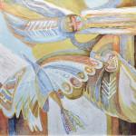 Колчанова-Нарбекова Л.Н. Зимняя птица Инненармунь. 2006. Х.,м.100х90+_измен.размер