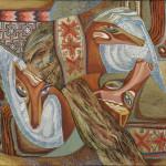 Колчанова-Нарбекова Л.Н. Моление о лошадях. 2001. Х., м. 60х75_измен.размер