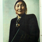 Фото Ш. Ахметжановой, жур. Огонек, 1954 г., номер 10 (срединная вкладка)