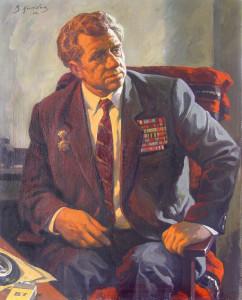 V_D_Ilyukhin_Portret_veterana_Velikoy_Otechestvennoy_voyny_N_N_Alexandrova_1996