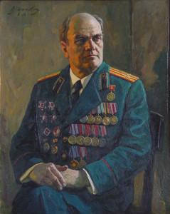 V_D_Ilyukhin_Portret_veterana_Velikoy_Otechestvennoy_voyny_V_I_Filimonova_1985