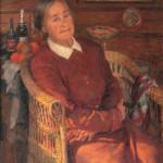 Portret_Lidii_Vasilyevny_Sychkovoy_zheny_khudozhnika_1955g_KP_1472_Zh-785