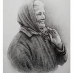 008. Фролкина Виктория Анатольевна. Портрет пожилой женщина_измен.размер