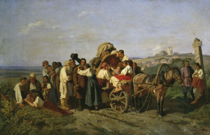16. К. Трутовский Переселенцы из Курской губернии. 1864