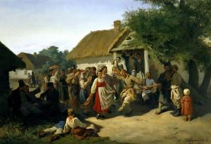 16.1 Трутовский Хоровод в Малороссии. 1860.