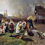 18. Дмитриев Оренбургский Пожар в деревне 1870