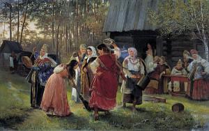 27.Корзухин_Девичник 1889