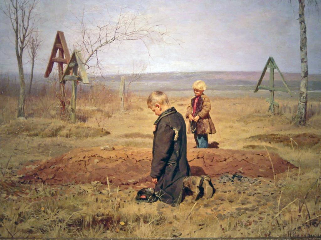 28. Касаткин_Осиротели 1891