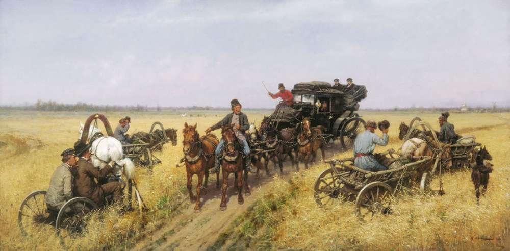 П.О. Ковалевский. Объезд епархии. 1885 г. ГТГ